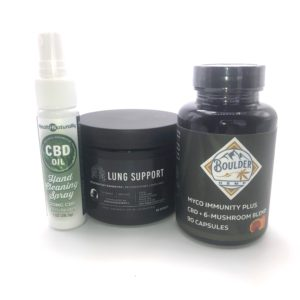 20% Off Ultimate Respiratory Bundle With Free CBD Hand Spray